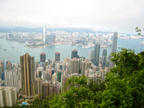 View from The Peak, on Lugard Road, expatlingo.com