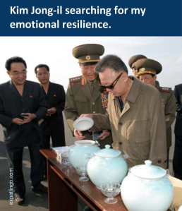 Kim Jong-il searches for my emotional resilience _ expatlingo.com