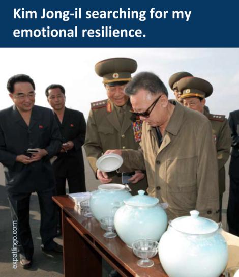 """Original photo via """"Kim Jong-il Looking at Things"""""""