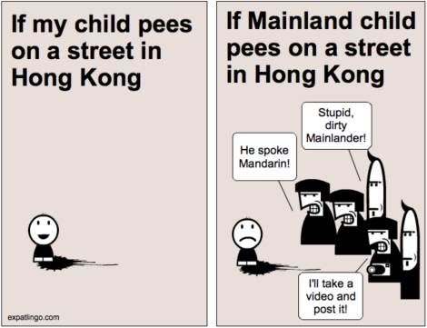 The Great Hong Kong Urine Wars comic _ expatlingo.com