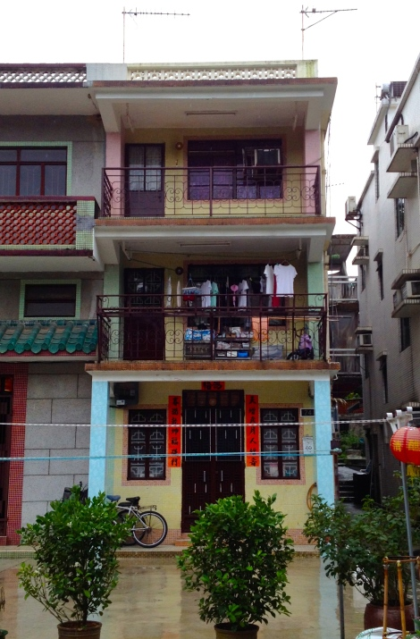 1960s village house in Tai Po Tau.