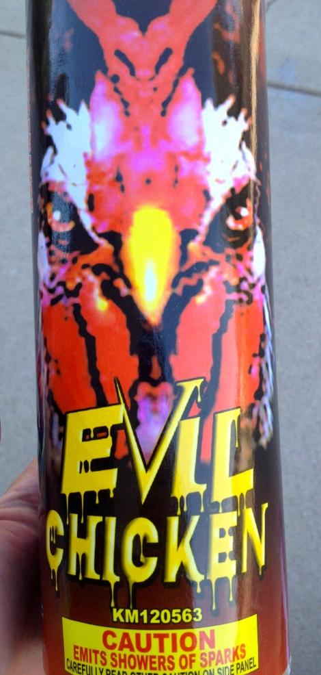 """""""Evil Chicken"""""""