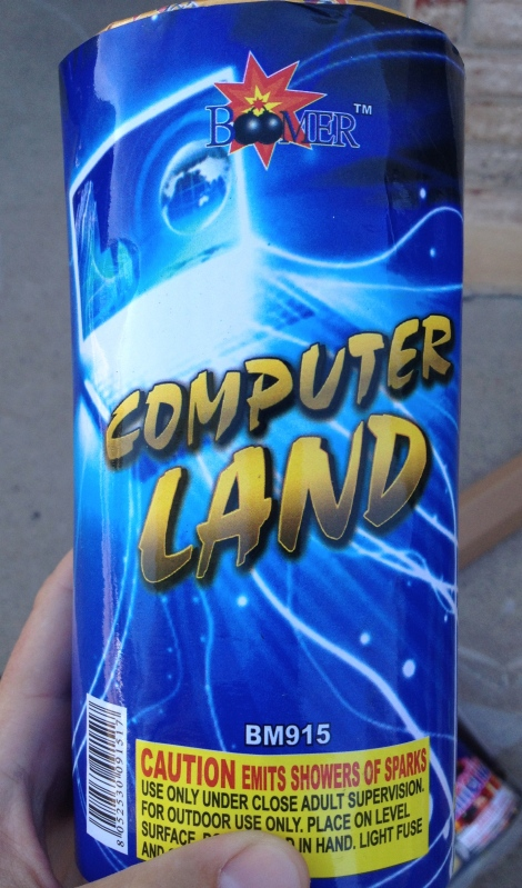 """Computer Land"""
