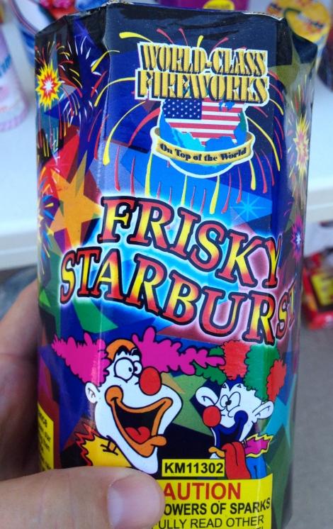 """""""Frisky Starburst"""""""