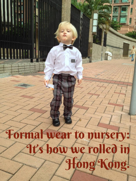 Bow tie nursery _ expatlingo.com
