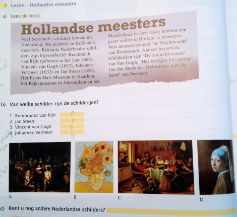 Cultural note of Dutch Masters _expatlingo.com