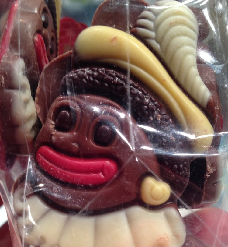 Chocolate Zwarte Piet from Jumbo _ expatlingo.com