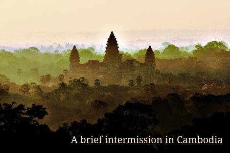 Original Ankor Wat at dawn image by Donald Macauley via Wikimediacommons here.