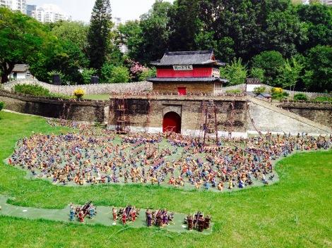 Great Wall siege scene