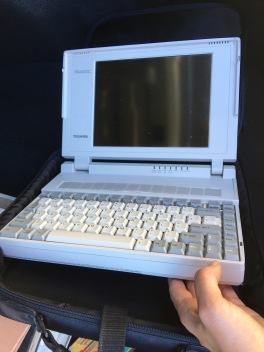Laptop used in law school