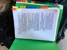 Stacks of notes, never to be read again
